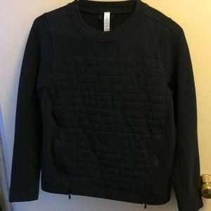 Lululemon athletics black sweatshirt size 4